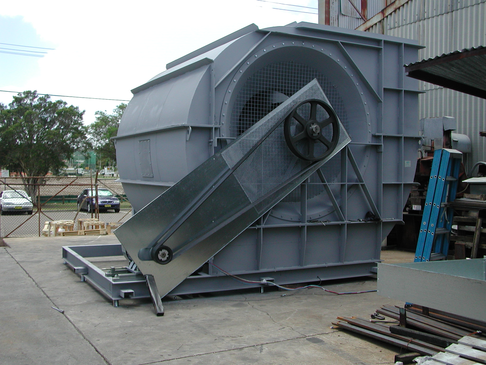 187 Very Large Centrifugal Fan