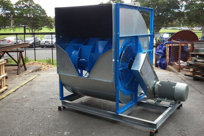 Types Of Industrial Blowers : Ahu fans